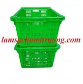 Chuyên cung cấp sọt nhựa công nghiệp, sọt quai sắt, rổ đựng hàng hóa giá rẻ