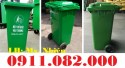 Nơi bán thùng rác 240 lít, thùng rác công cộng giá rẻ tại sóc trăng- thùng rác n