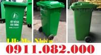Thùng rác giá rẻ tại Long An- thùng rác 120 lít 240 lít 660 lít giá sỉ lẻ- 0911.