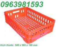Sóng nhựa rỗng HS014, sóng cá, rổ nhựa công nghiệp, sọt nhựa giá rẻ