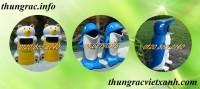 Sản xuất thùng rác hình thú, thùng rác hình thú nhựa composite, thùng rác giá rẻ