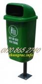 Sản xuất thùng rác treo 50L, thùng rác treo đôi 50Lx2, thùng rác treo giá rẻ