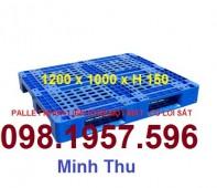 Pallet nhựa dùng trong nhà xưởng, kho bãi giá rẻ