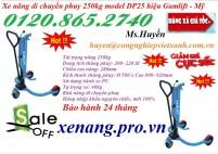 Xe nâng di chuyển phuy 250kg giá siêu rẻ - xả hàng giá gốc LH 01208652740