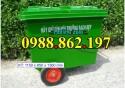xe đẩy rác 2 bánh, 3 bánh, 4 bánh phục vụ môi trường, bệnh viện, xí nghiệp…. Bán