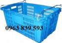 Cần bán rổ nhựa công nghiệp, rổ nhựa đựng thành phẩm giá rẻ - 096 383 9593