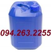 Can 20l, 25l, 30l, bình nhựa 20l, can đựng hóa chất, can nhựa vuông