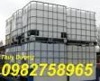 Bán thùng đựng hóa chất, thùng 1000l, tank nhựa 1000l chứa hóa chất