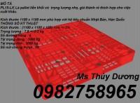 Bán Pallet 1200 x 1000 x 78 mm, pallet kê hàng, pallet nâng hàng giá rẻ