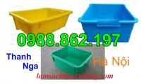 Khay nhựa A3, thùng chứa A3, thùng nhựa A3 giá rẻ, thùng nhựa đặc A3