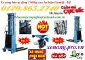 Xe nâng bán tự động 1500kg nâng cao 3m xả hàng giá gốc call 01208652740 – Huyền