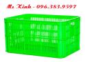rổ nhựa chất liệu nhựa hdpe nguyên sinh, bán sọt nhựa giá rẻ, thùng nhựa chữ nhật