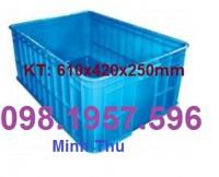 Thùng nhựa đặc giá rẻ, Thùng nhựa đặc có nắp, thùng nhựa, sóng nhựa cơ khí,