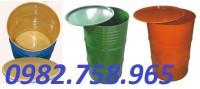 Thùng phuy sắt 220l, thùng đựng hóa chất, thung phuy sat.
