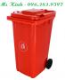 phân phối thùng rác công nghiệp giá rẻ cho đại lý, thùng rác 120l giá chỉ 400k