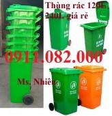 Thủng ác chuyên sỉ giá rẻ- hạ giá thùng rác 120 lít 240 lít 660 lít giá thấp nhất