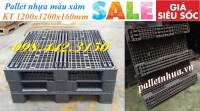 Pallet nhựa kích thước lớn 1200x1200x160mm giá rẻ call 0984423150 – Huyền