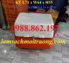 Thùng giao hàng, thùng chở hàng nhựa composite, thùng giao hàng sau xe máy giá