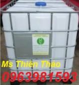 Bán tank nhựa, thùng nhựa 1000 lít, tank IBC 1000 lít, thùng đựng hóa chất