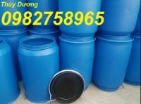 Thùng phuy đựng thực phẩm, thùng phuy 220 lít, thùng phuy nhựa, thùng chứa
