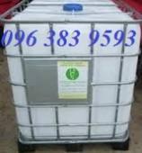 Tank nhựa IBC 100L, tank nhựa đựng hóa chất cũ, mới giá rẻ - 0963.839.593