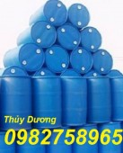 Thùng phuy nhựa 220 lít, thùng phuy nắp kín, thùng phuy nắp mở, thùng chứa
