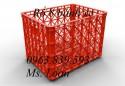Cc rổ nhựa 8 bánh xe giá rẻ - 0963.839.593 Thanh Loan