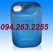 Can nhựa vuông 20l, can nhựa màu xanh, can đựng hóa chất giá rẻ