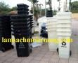 Thùng rác y tế 60l, thùng đựng chất thải, thùng đựng chất nguy hại 120l