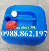 Can nhựa đựng hóa chất, Can nhựa dùng đựng hóa chất dầu nhớt, can nhựa đựng xăn
