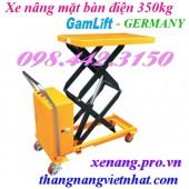 Xe nâng mặt bàn điện 350kg ETAD35 GAMLIFT - GERMANY
