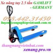 Xe nâng tay 2.5 tấn M25D GAMLIFT - Germany giá sốc call 0984423150 – Huyền