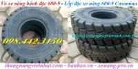 Vỏ xe nâng lốp đặc Casumina 600-9, 700-12 giá rẻ call 0984423150 – Huyền