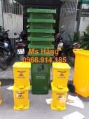 Thùng rác y tế,thùng rác đạp chân 15 lít giá rẻ