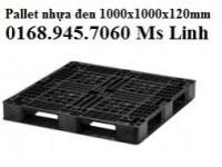 Pallet nhựa đen xuất khẩu giá 260000đ