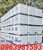 Tank nhựa, thùng nhựa, thùng 1 khối giá rẻ dùng trong công nghiệp