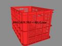 Cc rổ nhựa HS005 - Rổ nhựa công nghiệp 3T9 giá sỉ -Call: 0963.839.593 Thanh Loan