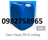 Cung cấp các loại thùng chứa, can nhựa, can đựng hóa chất 20l