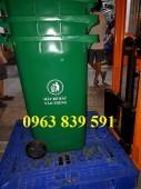 Thùng đựng rác 2 bánh xe dung tích 240L giá sĩ