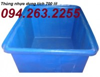 Bán các loại thùng nhựa dung tích lớn, thùng nhựa tròn 3000 lít,thùng nhựa vuông