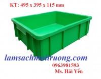 Thùng nhựa đựng vật tư, thùng đựng ốc vít, thùng nhựa đựng đồ cơ khí giá rẻ