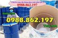 thùng phuy 220 lit tại Hà Nội, thùng phuy đựnghóa chất giá rẻ, thùng phuy hóa ch
