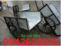 Xe gom rác, xe đẩy rác, xe thu gom rác bằng tôn, xe gom rác tôn giá rẻ