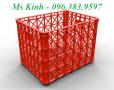 bán sỉ rổ nhựa trong ngành may, thùng nhựa chữ nhật lớn 500l, sọt nhựa chữ nhật