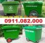 Địa điểm bán thùng rác 660 lít giá rẻ tại cần thơ- thùng rác bánh căm