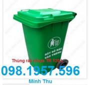 thùng rác giá rẻ, thùng rác công cộng, thùng rác nhựa, thùng rác 120 lít,