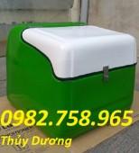 Thùng Composite giữ nhiệt, thùng đựng thực phẩm, thùng chở hàng, thùng giao hàng