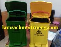 Cung cấp thùng rác y tế, thùng rác 20 lít, thùng rác nhựa đạp chân giá rẻ