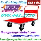 Xe đẩy hàng XTH250S1 600kg 4 bánh xe