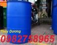 Bán thùng phuy nhựa, thùng phuy trồng rau, thùng phuy làm bè giá rẻ